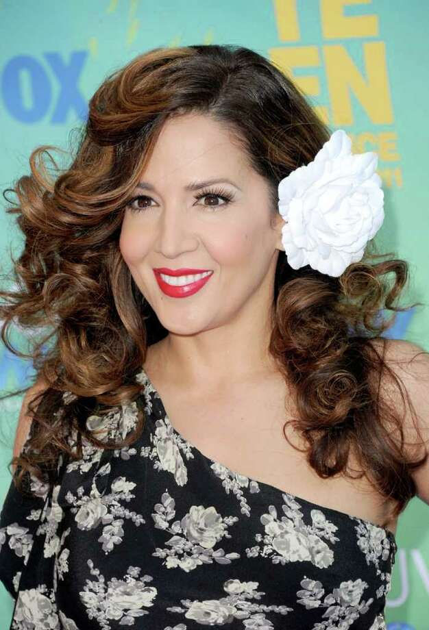 UNIVERSAL CITY, CA - AUGUST 07:  Actress Maria Canals-Barrera arrives at the 2011 Teen Choice Awards held at the Gibson Amphitheatre on August 7, 2011 in Universal City, California. Photo: Jason Merritt, Getty Images / 2011 Getty Images