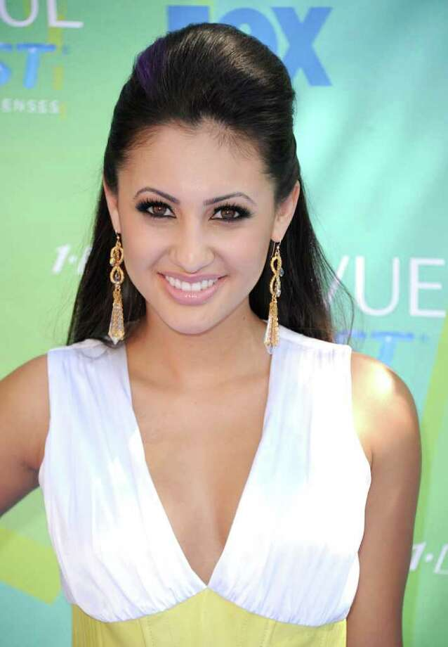 UNIVERSAL CITY, CA - AUGUST 07:  Actress Francia Raisa arrives at the 2011 Teen Choice Awards held at the Gibson Amphitheatre on August 7, 2011 in Universal City, California. Photo: Jason Merritt, Getty Images / 2011 Getty Images
