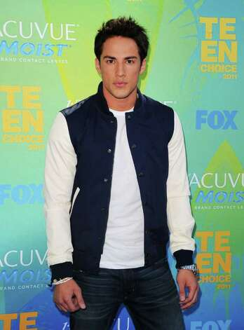 Actor Michael Trevino arrives at the 2011 Teen Choice Awards held at the Gibson Amphitheatre in Universal City, California. Photo: Jason Merritt, Getty Images / 2011 Getty Images