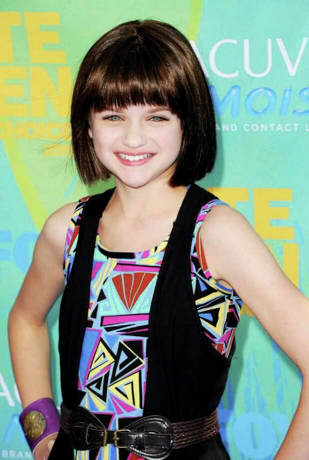 UNIVERSAL CITY, CA - AUGUST 07:  Actress Joey King arrives at the 2011 Teen Choice Awards held at the Gibson Amphitheatre on August 7, 2011 in Universal City, California. Photo: Jason Merritt, Getty Images / 2011 Getty Images