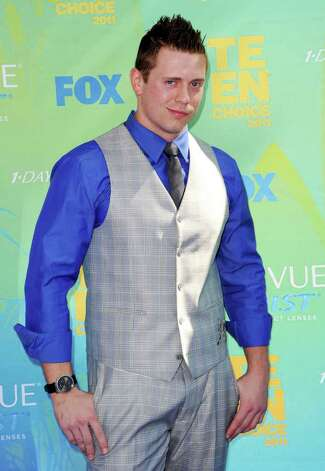 WWE Wrestler The Miz arrives at the 2011 Teen Choice Awards held at the Gibson Amphitheatre in Universal City, California. Photo: Jason Merritt, Getty Images / 2011 Getty Images