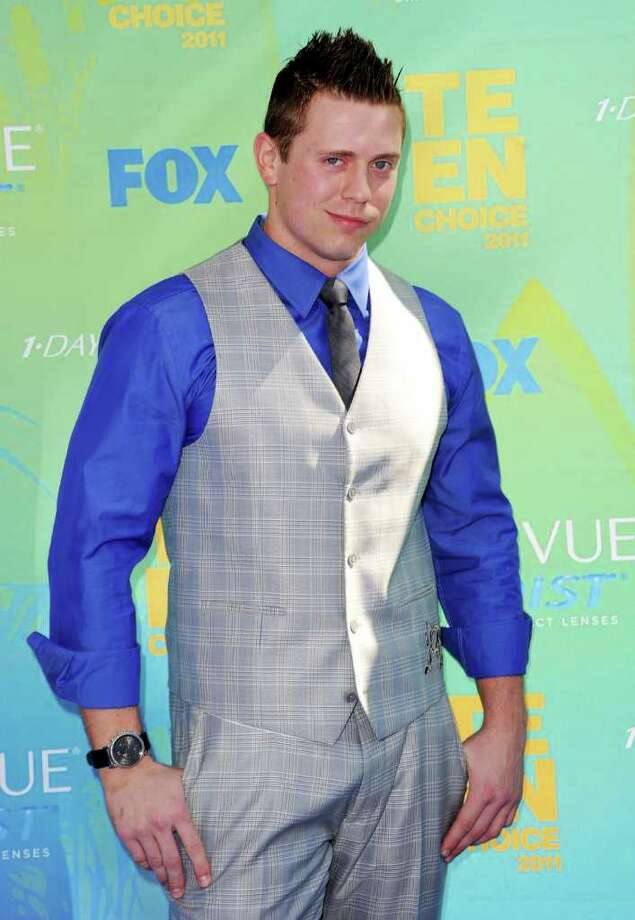 UNIVERSAL CITY, CA - AUGUST 07:  WWE Wrestler The Miz arrives at the 2011 Teen Choice Awards held at the Gibson Amphitheatre on August 7, 2011 in Universal City, California. Photo: Jason Merritt, Getty Images / 2011 Getty Images