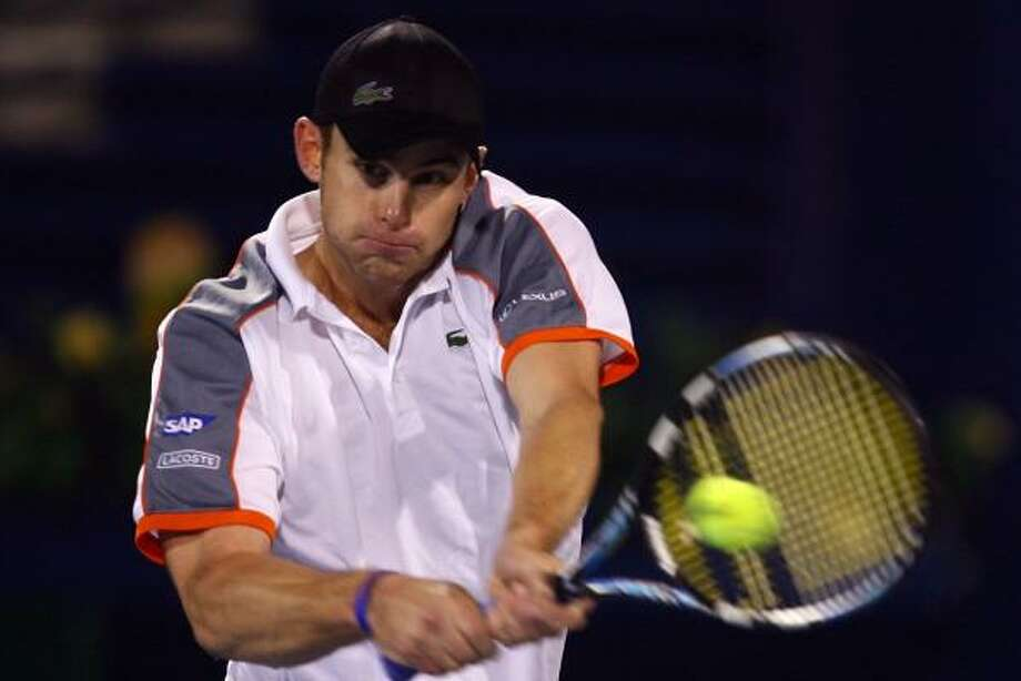Andy Roddick continued his dominance at the Dubai Tennis Championship, rallying to a win over Feliciano Lopez. Photo: JULIAN FINNEY, GETTY IMAGES