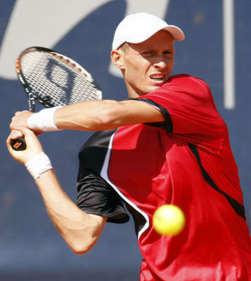 A match involving Russian tennis player Nikolay Davydenko is at the heart of the betting scandal. Photo: Fabian Bimmer, AP