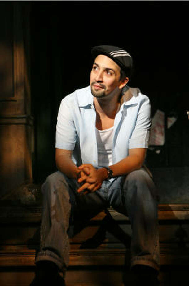 """""""The show is a funhouse-mirror version of the neighborhood I knew growing up,"""" says Lin-Manuel Miranda. Photo: Joan Marcus"""