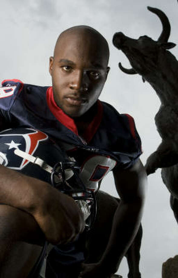 Texans linebacker DeMeco Ryans is one of the NFL's best. Photo: Brett Coomer, Chronicle