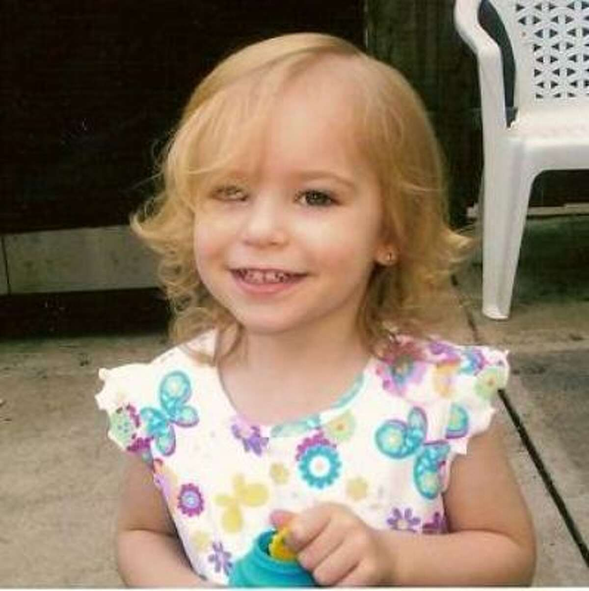 Riley Ann Sawyers, whose body washed ashore in a storage bin in Galveston Bay on Oct. 29.