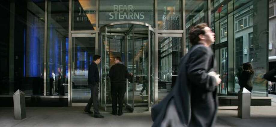 It is unclear whether the Bear Stearns name will survive the deal. Photo: MARK LENNIHAN, ASSOCIATED PRESS FILE