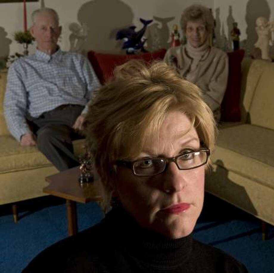 Jo Ann Bauer moved back into the home of her parents, Bill and Shirley Smith, at age 52 following tough economic times. Photo: MORRY GASH, ASSOCIATED PRESS
