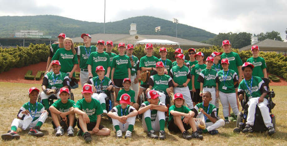 West University Challenger Little League players, Buddies and coaches had the chance in August to play against a Challenger team from Tucson, Ariz at the Little League World Series in Williamsport, PA.