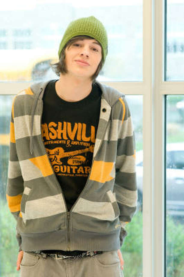 Matt Prokop, 18 and from Victoria, plays an awkward sophomore in HSM3. Photo: John Bramley, Disney Enterprises