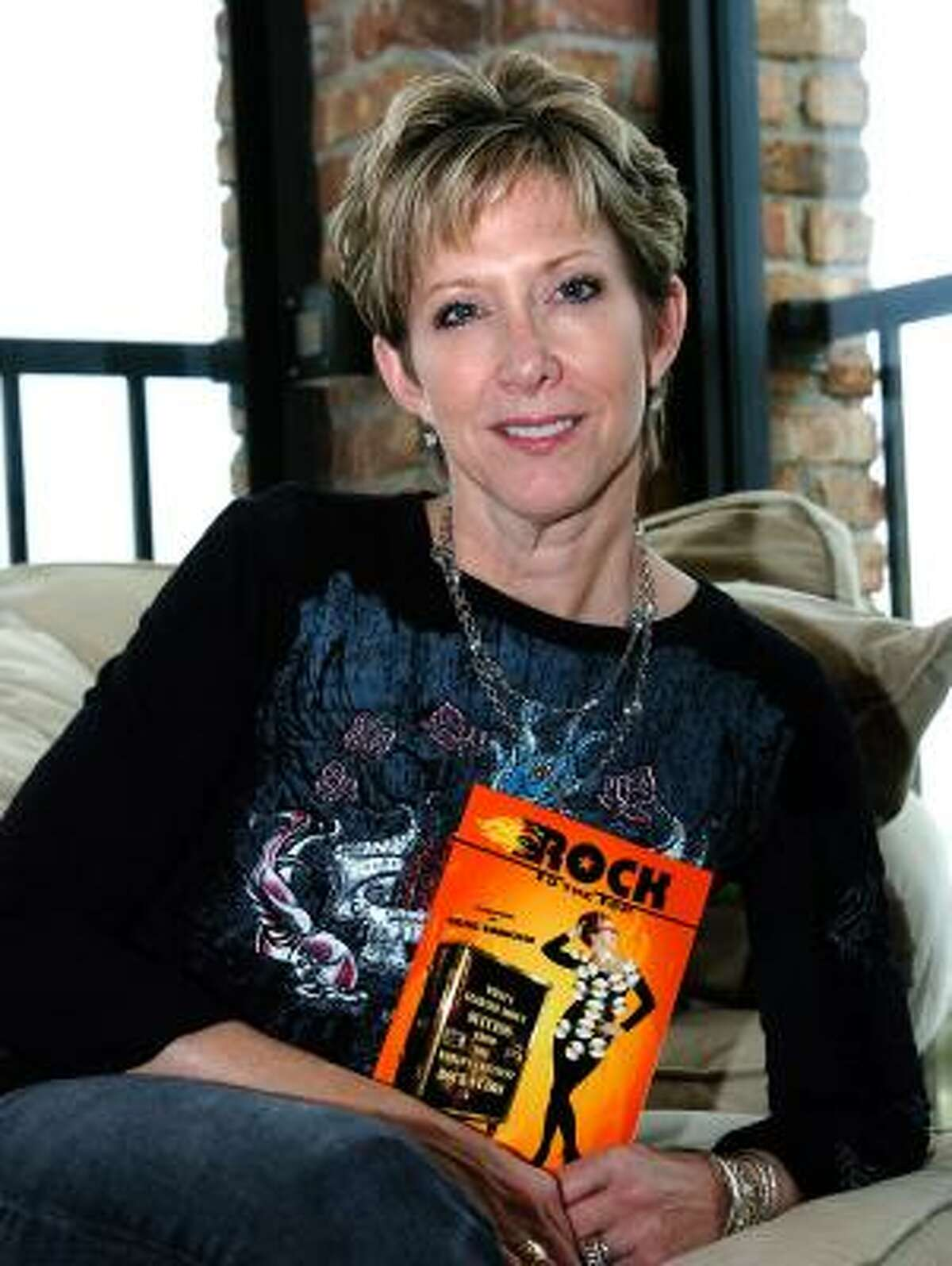 Author and former radio personality Dayna Steele's new book, Rock to the Top: What I Learned About Success From The World's Greatest Rock Stars is part self-help, but mostly fun stories about superstars.