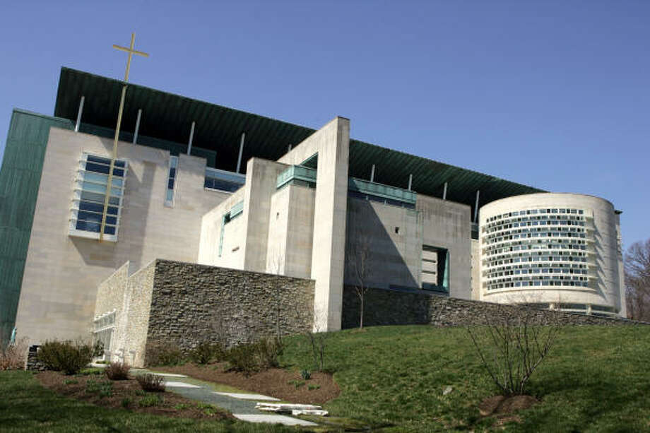 The Pope John Paul II Cultural Center on the campus of Catholic University is seen in Washington, DC, on March 21, 2008. Pope Benedict XVI will meet with Buddhists, Muslims, Hindus, Jews and representatives of other religions at the Center as he makes his first official visit to the United States next month when he travels to New York and Washington, DC. AFP PHOTO/SAUL LOEB (Photo credit should read SAUL LOEB/AFP/Getty Images) Photo: SAUL LOEB, AFP/Getty Images