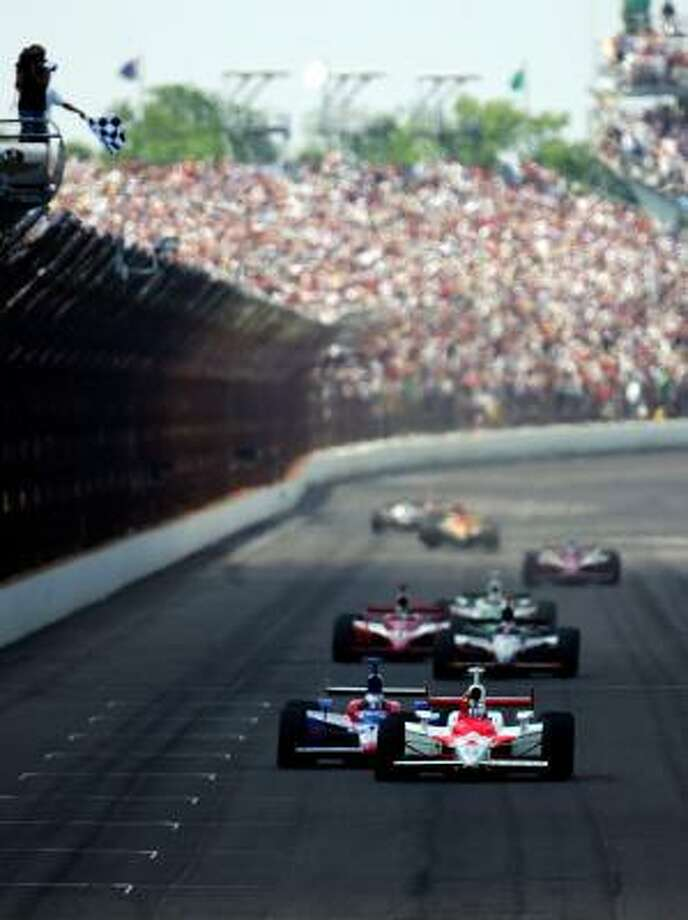 NASCAR is working with local, state and federal law enforcement to protect The Indianapolis 500, which is being held on Memorial Day weekend. Photo: Donald Miralle, Getty Images