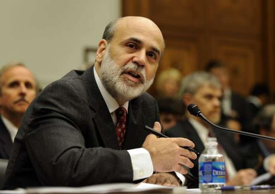 Federal Reserve Chairman Ben Bernanke. Photo: Susan Walsh, AP