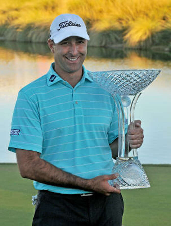 Marc Turnesa wins the Justin Timberlake Shriners Hospitals for Children Open held at the TPC Summerlin. Photo: Marc Feldman, Getty Images