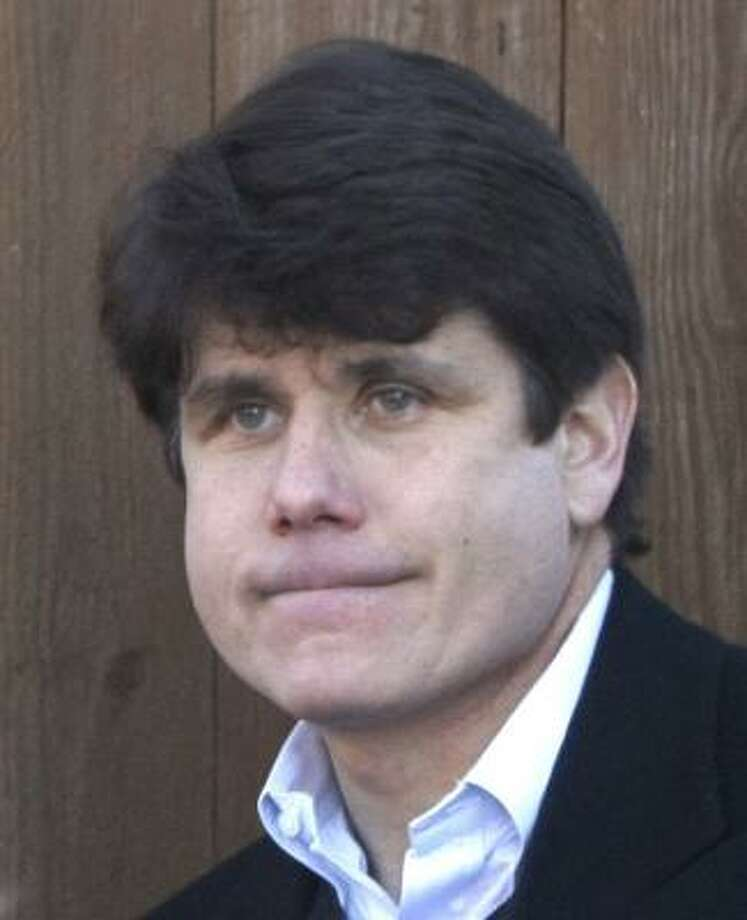 Corruption charges were brought against Illinois Gov. Rod Blagojevich last week. Photo: CHARLES REX ARBOGAST, AP