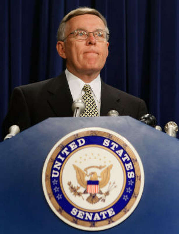U.S. Sen. Byron Dorgan called for the investigation by the Government Accountability Office. Photo: Mark Wilson, Getty Images