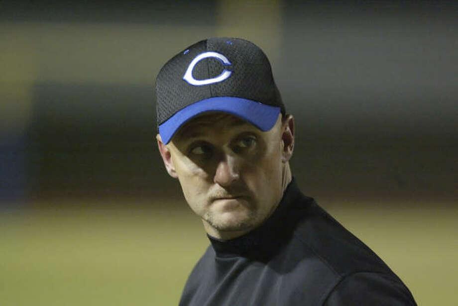 Chavez head coach Mike Jackson. Photo: Matthew White, For The Chronicle