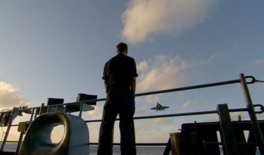 Carrier, a 10-part series filmed aboard the USS Nimitz, is a character-driven immersion in the high-stakes world of a nuclear aircraft carrier. Photo: CARRIER