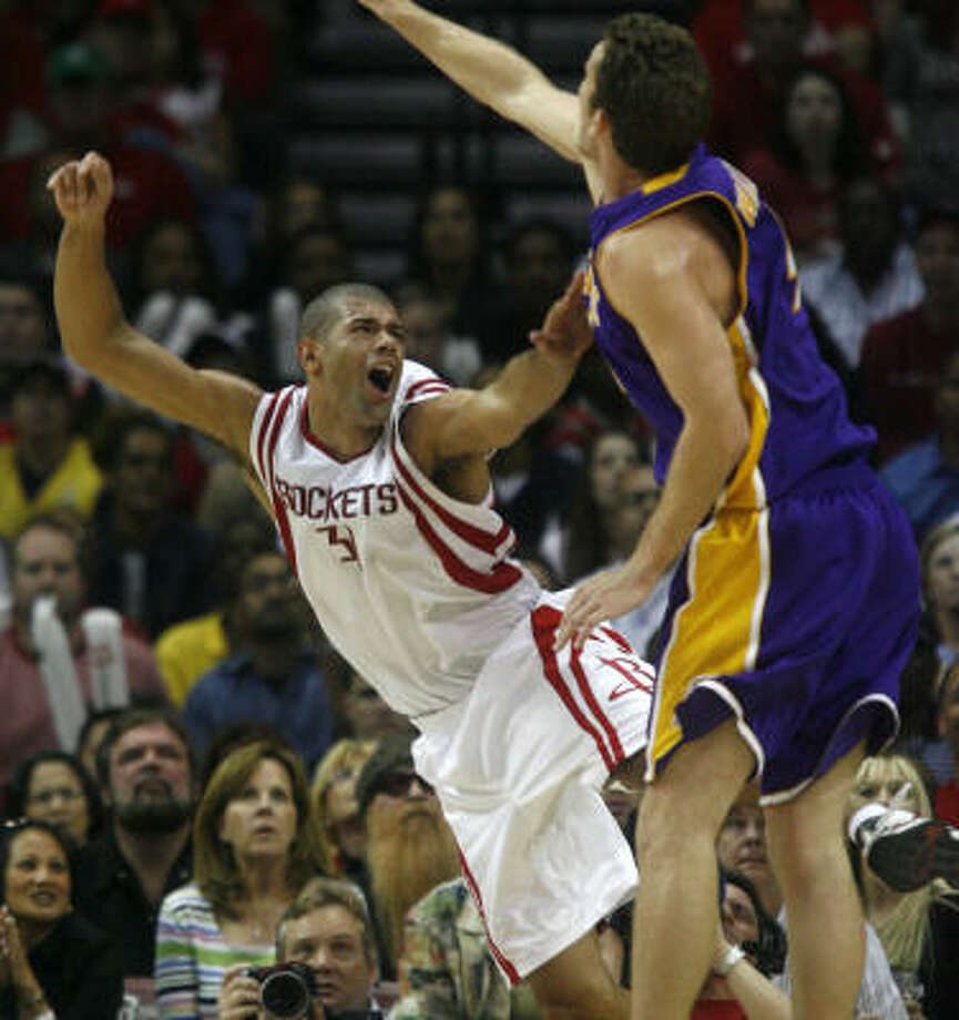 The rest of the NBA is about to learn what the Rockets already know about Shane Battier, Richard Justice writes. Photo: Karen Warren, Chronicle