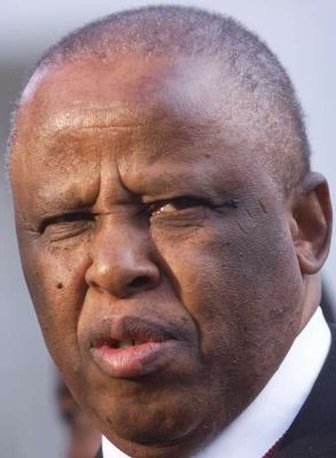Festus Gontebanye Mogae has been praised for his efforts to battle AIDS in Botswana. Photo: PABLO MARTINEZ MONSIVAIS, ASSOCIATED PRESS