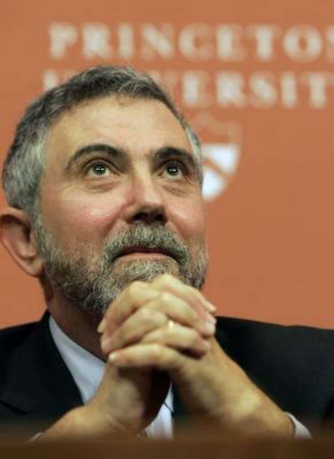 Paul Krugman was surprised to be recognized for his theories on urban economics. Photo: MEL EVANS, ASSOCIATED PRESS