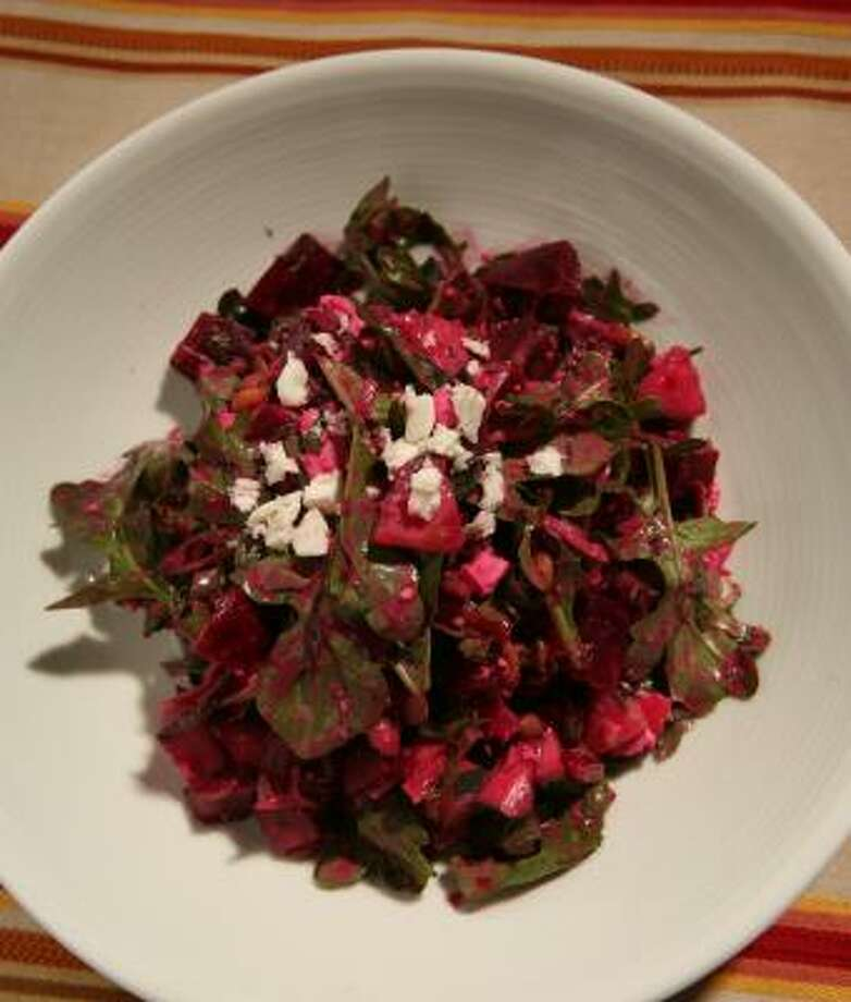 A hate is a terrible thing to waste, but Beet Hater's Salad is what finally laid it to rest. Photo: THOR SWIFT, FOR THE SAN FRANCISCO CHRONICLE