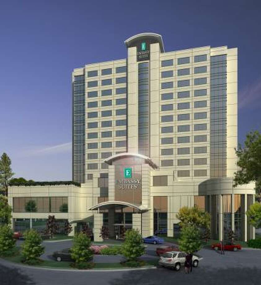 Mac Haik Realty is developing a 216-room Embassy Suites hotel in the Energy Corridor. Photo: MAC HAIK REALTY