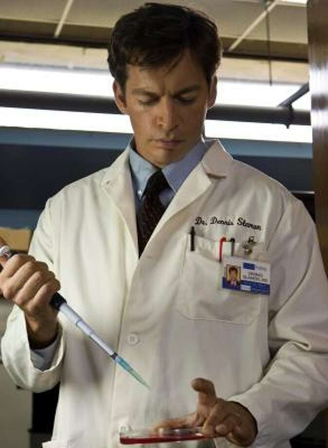Harry Connick Jr.'s portrayal of Dr. Dennis Slamon is one of many bright spots in Living Proof, airing at 8 tonight on Lifetime. Photo: SKIP BOLEN, LIFETIME NETWORK