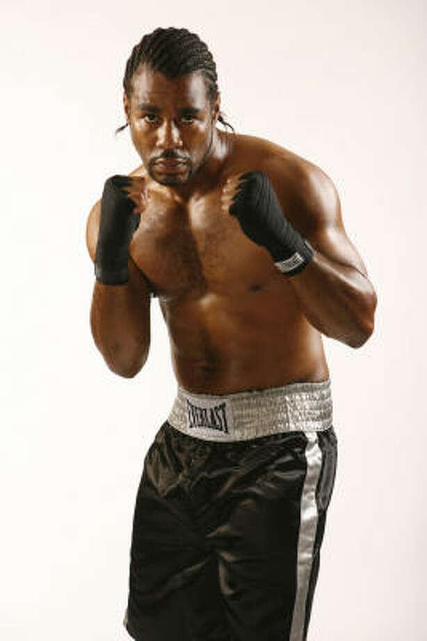 The Contender 4 Boxer, Felix Cora Jr. Photo: Danny Moloshok