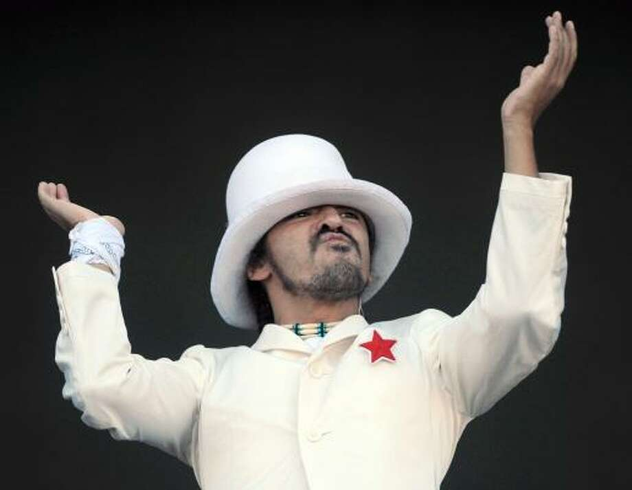 Ruben Albarran and Café Tacvba, leading nominees at this year's Latin Grammys, are scheduled to perform. Photo: PIERRE-PHILIPPE MARCOU, AFP | GETTY IMAGES