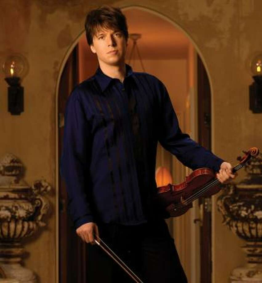 Heartthrob violinist Joshua Bell will play early next year. Photo: TIMOTHY WHITE
