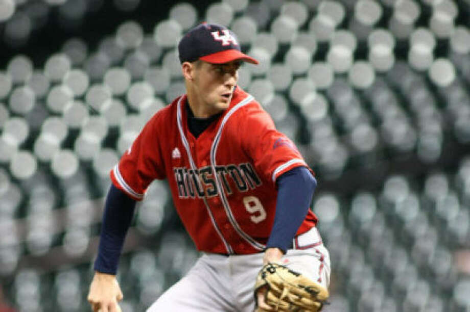 Freshman closer Chase Dempsay tossed 4 1/3 innings of one-hit ball in the Cougars' 10-4 win over UAB. Photo: Photo Courtesy Of The University Of Houston