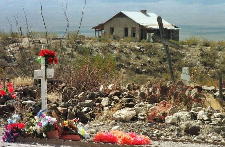 Esequiel Hernandez is buried in Redford. Hernandez was shot and killed in 1997 by U.S. Marines assigned on a drug interdiction patrol along the border. Photo: JACK KURTZ, Associated Press | El Paso Times