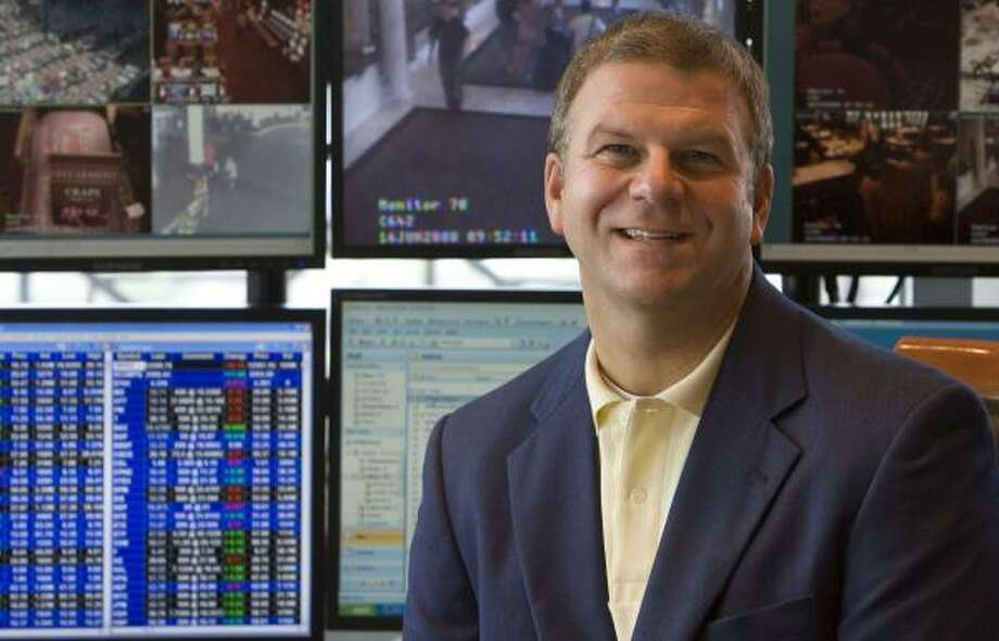 Tilman Fertitta, CEO and founder of Landry's Restaurants, is on track to take the company private. Photo: JAMES NIELSEN, CHRONICLE