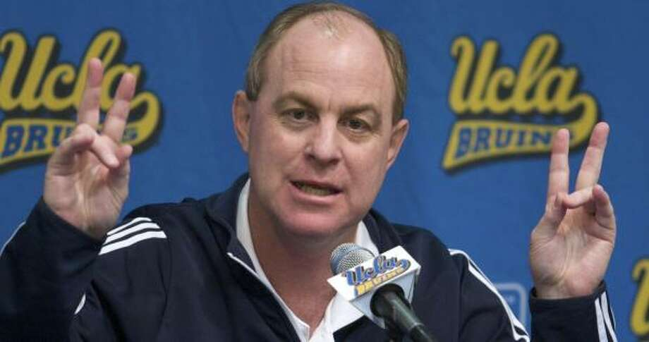 Men's coach Ben Howland signed a contract that could keep him at UCLA through 2015. Photo: Damian Dovarganes, AP