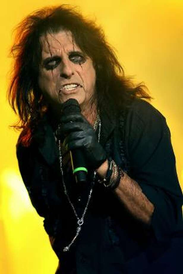 Alice Cooper will perform as a part of the first Rock the Bayou Festival, which starts Friday. Cooper will take the stage on Sunday. Photo: LEON NEAL, AFP | Getty Images