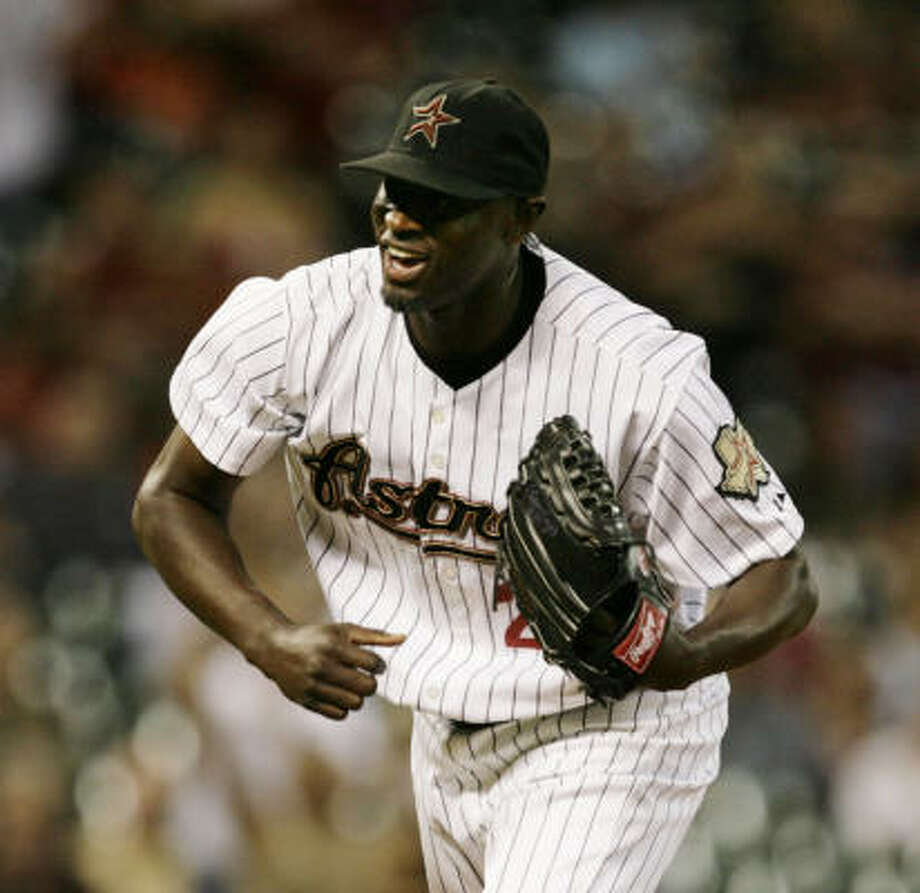 Unusable as a Yankee. Unhittable as an Astro. Reliever LaTroy Hawkins says he's always been the same player. Photo: Eric Kayne, Chronicle