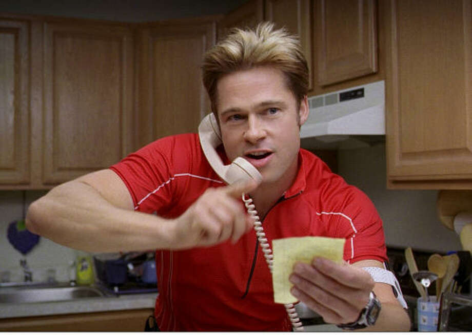 AMUSING ROLE: Brad Pitt stars in Joel and Ethan Coen's comedy Burn After Reading. Photo: Focus Features