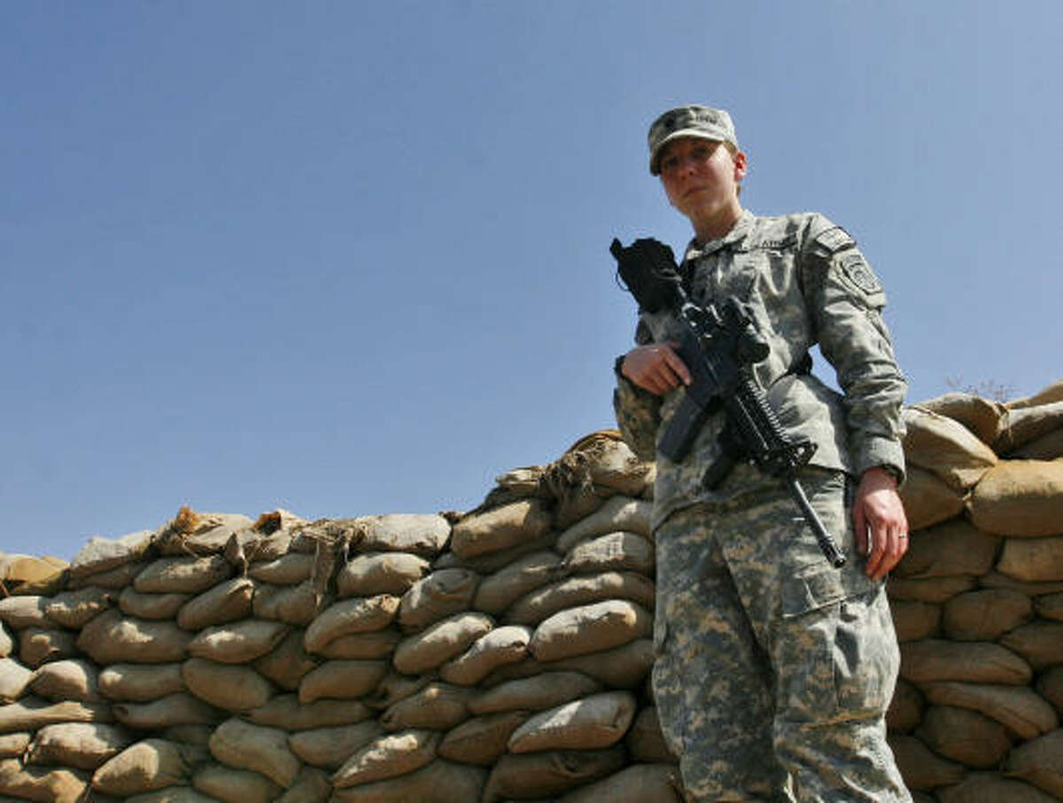 Army Spc. Monica Lin Brown saved the lives of fellow soldiers after a roadside bomb tore through a convoy of Humvees in the eastern Paktia province in April 2007, the military said.
