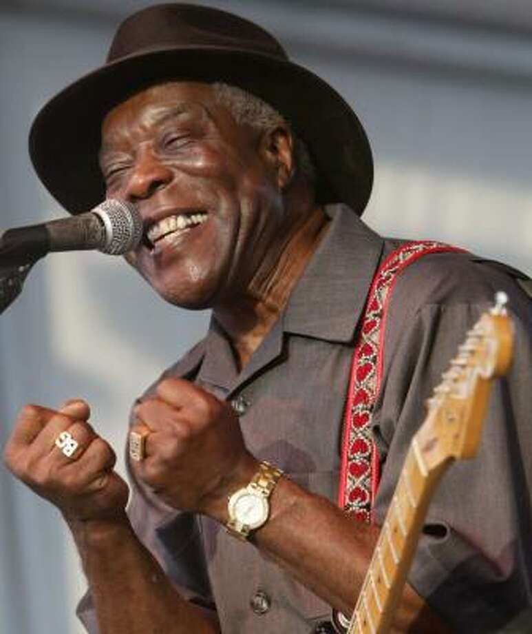 Blues icon Buddy Guy will perform on the World Music Stage at 8:30 p.m. Saturday at this year's iFest. Photo: Andrew Innerarity, CHRONICLE FILE