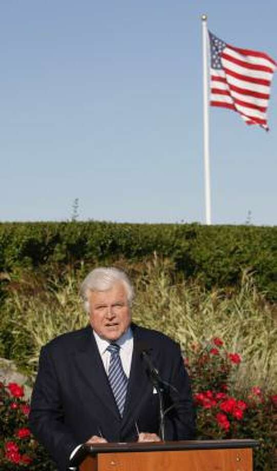 Sen. Edward M. Kennedy, D-Mass., has been getting treatment for brain cancer. Photo: STEPHAN SAVOIA, AP
