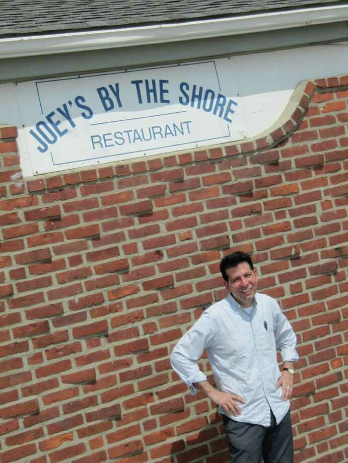 Pictured is Joe Romeo, owner of Joey's By The Shore, located at Compo Beach. Romeo has been providing nourishment to Westporters for nearly a quarter century. Photo: Kirk Lang / Westport News