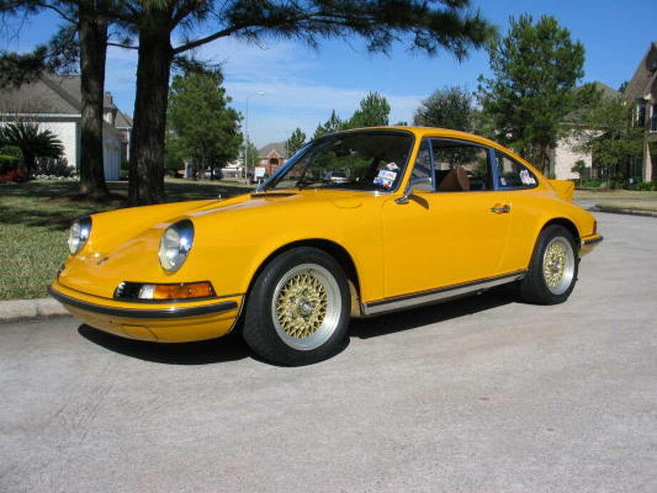Glenn Edgecomb is the original owner of this 1973 Porsche 911T . Photo: GLEN EDGECOMB, HANDOUT