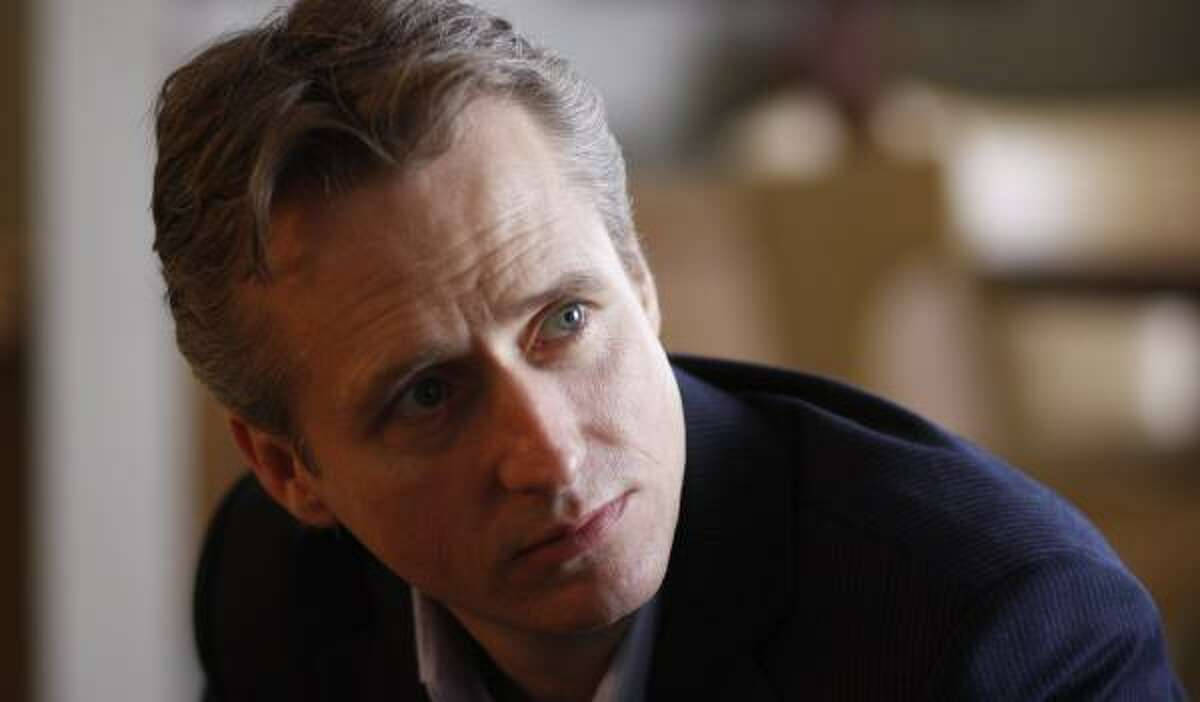 Actor Linus Roache, who plays an assistant D.A. on Law & Order, is also in the film, Before the Rains.
