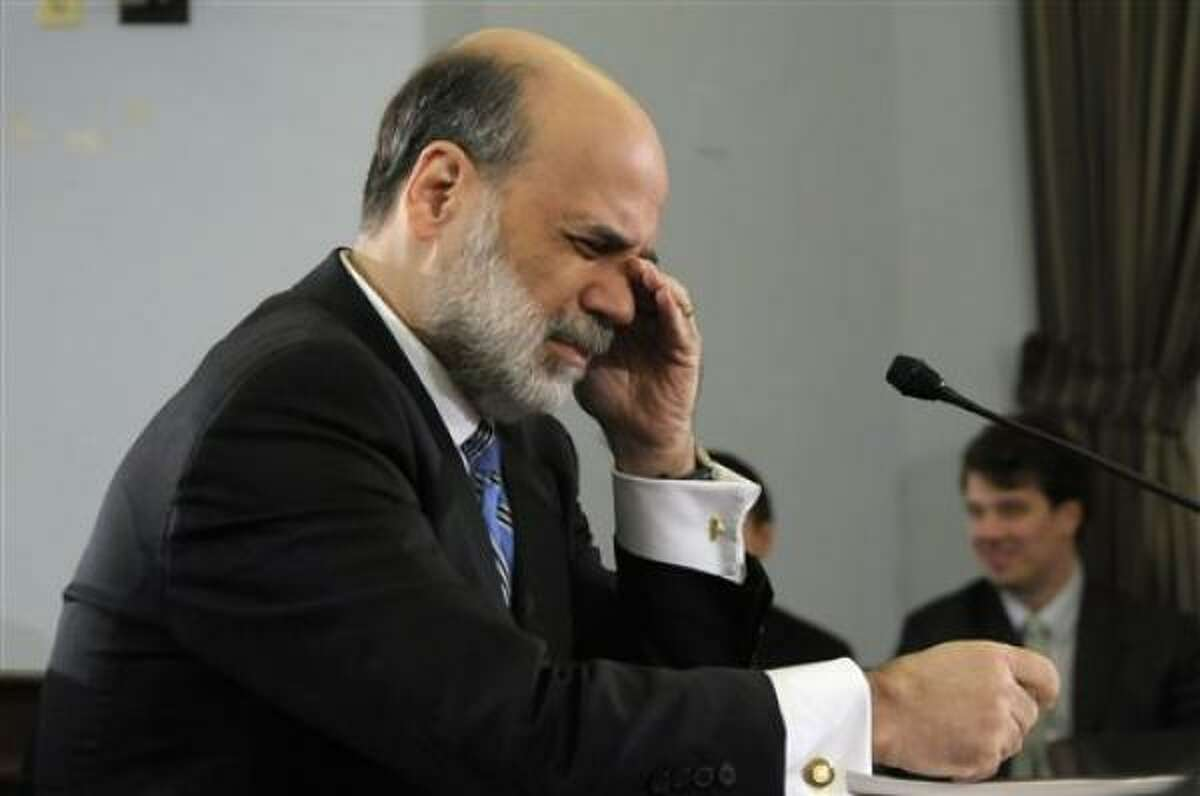 Federal Reserve Board Chairman Ben Bernanke testifies before the House Budget Committee on Jan. 17. Borrowers with adjustable-rate mortgages are likely to see the greatest impact because those loans are usually pegged to short-term rates, such as one-year Treasury bills.