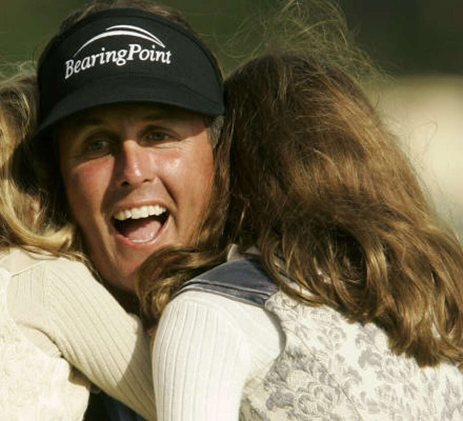 Landing Phil Mickelson was a coup for the Shell Houston Open. Photo: Jeff Chiu, AP