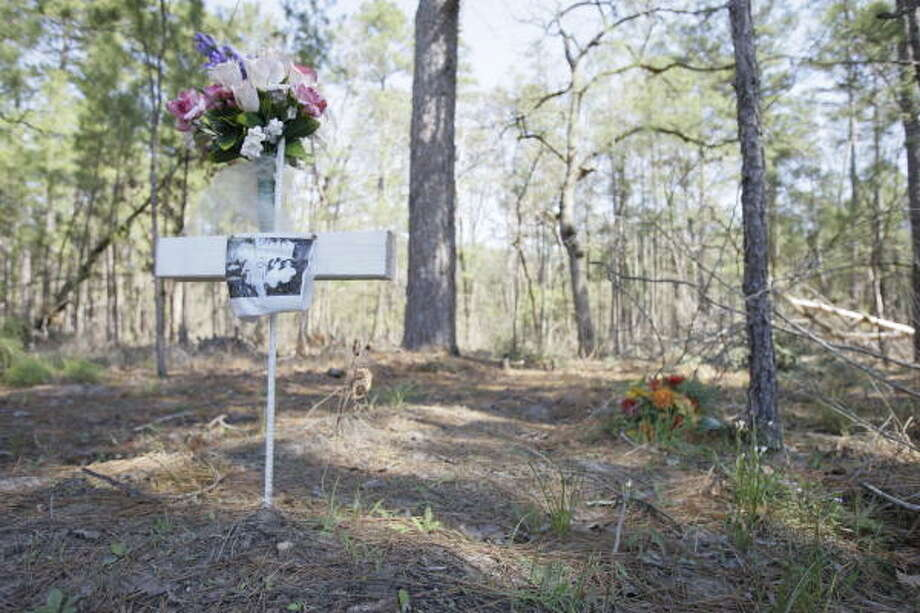"""The Ethician Family Cemetery in Huntsville: """"A pickled body encased in steel, bronze, copper and concrete is not in accordance with Biblical and Ethician principles."""" Photo: Melissa Phillip, Houston Chronicle"""