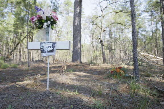 At the Ethician Family Cemetery near Huntsville, burials are done without embalming and without caskets made of metal or precious woods.